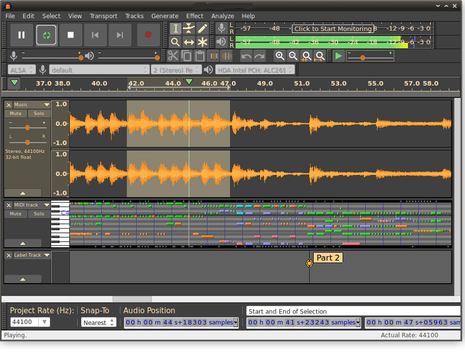 Audacity 2 2 0 On Linux, Software Recording