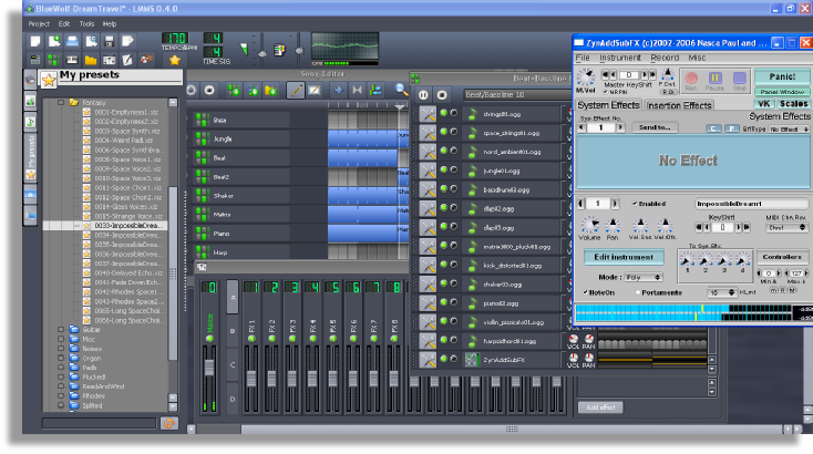 64 track recording software