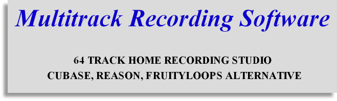Home  recording software for beginners